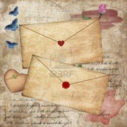 10867026-vintage-love-letters